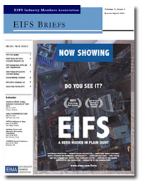 EIFS Briefs - Vol 9, Issue 4 - EIFS Industry Members Association - EIMA Newsletter