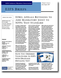 EIFS Briefs - Vol 8, Issue 6 - EIFS Industry Members Association - EIMA Newsletter