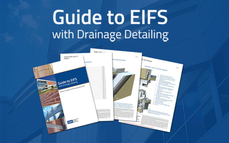 GUIDE TO EIFS with Drainage Details