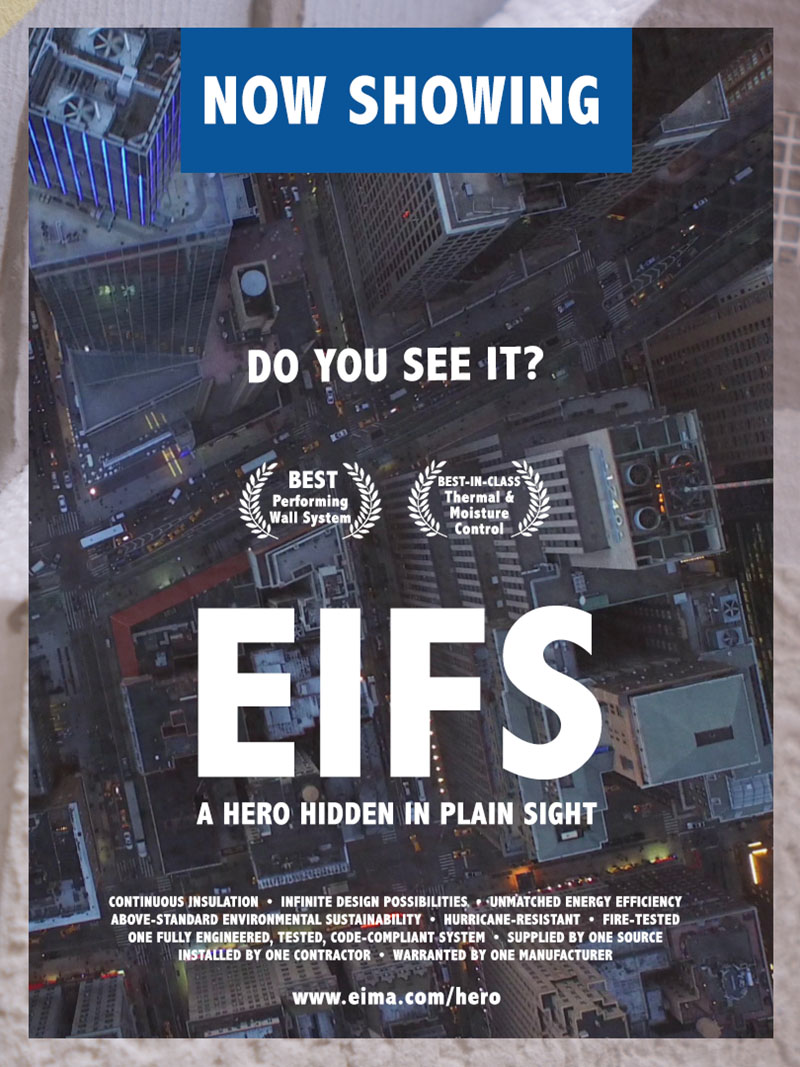 Now Showing! EIFS: A Hero Hidden in Plain Sight