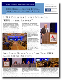 EIFS Briefs - Vol 9, Issue 3 - EIFS Industry Members Association - EIMA Newsletter