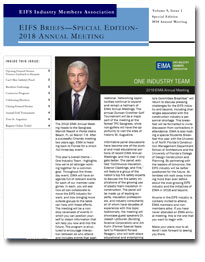EIFS Briefs - Vol 9, Issue 1 - EIFS Industry Members Association - EIMA Newsletter